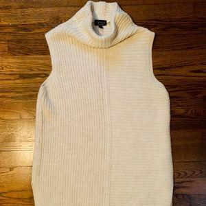 Topshop mock neck sweater dress Sz 8
